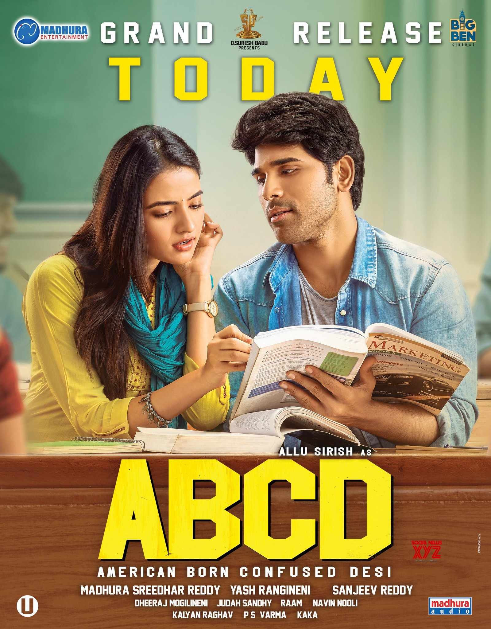 ABCD Movie Grand Release Today Poster