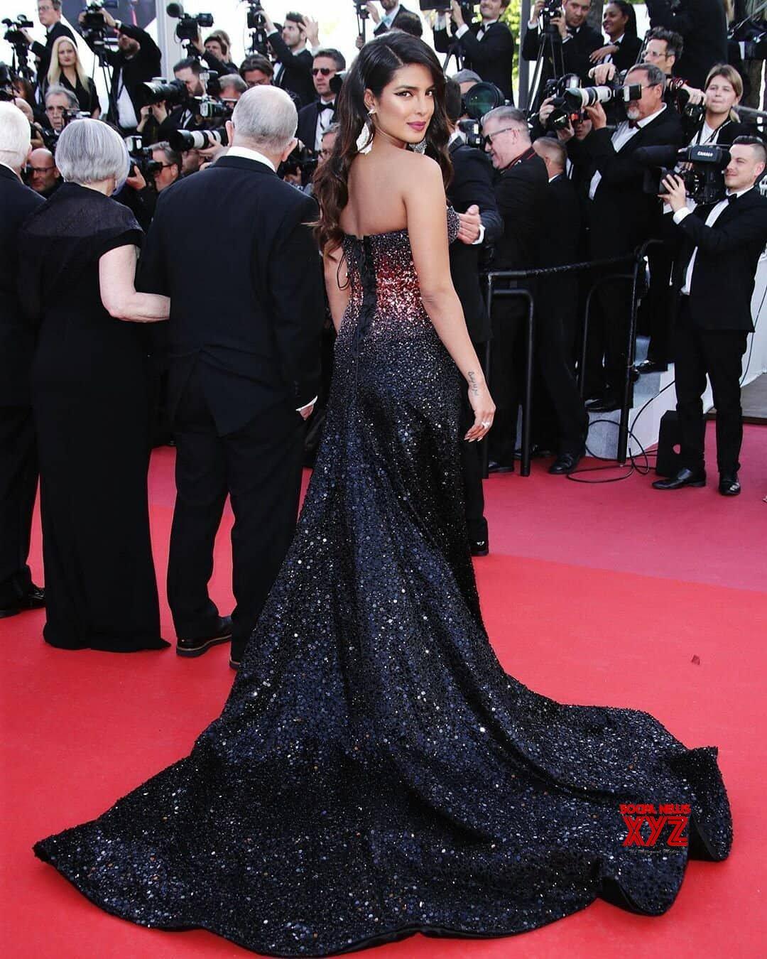 Actress Priyanka Chopra Hot Stills Form Cannes 2019