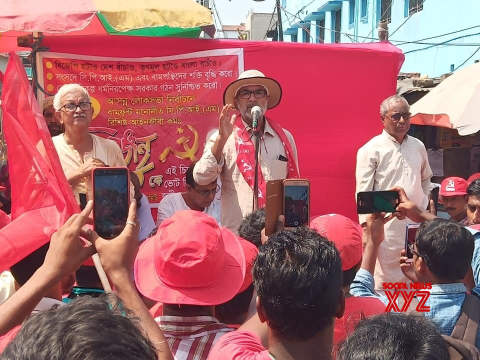 Kolkata: 2019 LS polls: Bikash Ranjan Bhattacharya's election campaign #Gallery