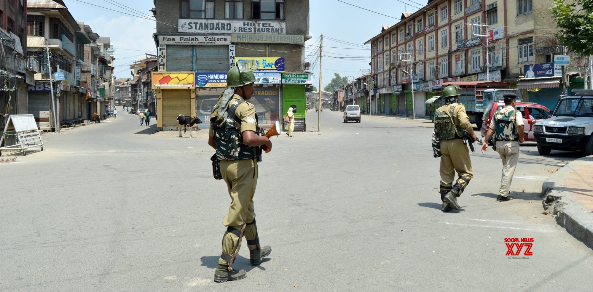 Separatist call shutdown over civilian killing in J&K