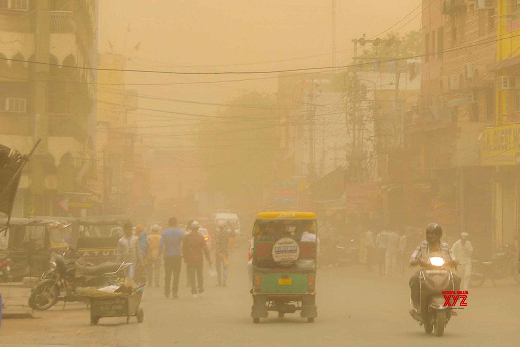 Ajmer: Dust storm #Gallery