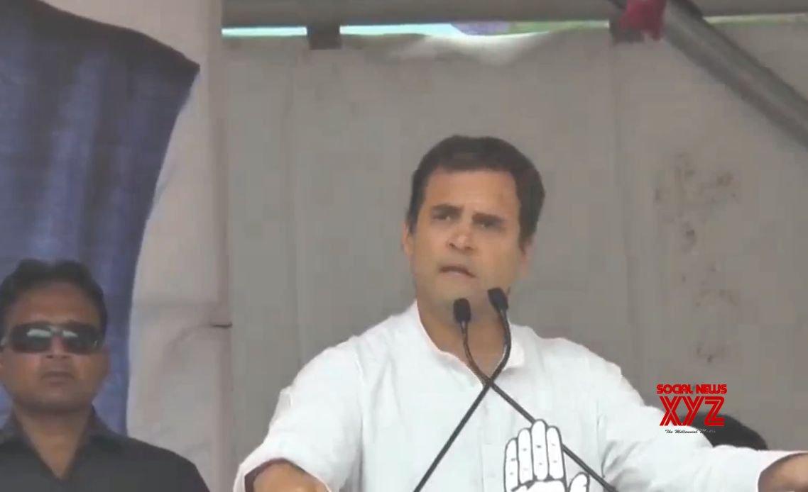 Solan: Rahul Gandhi at a public rally in Himachal Pradesh #Gallery