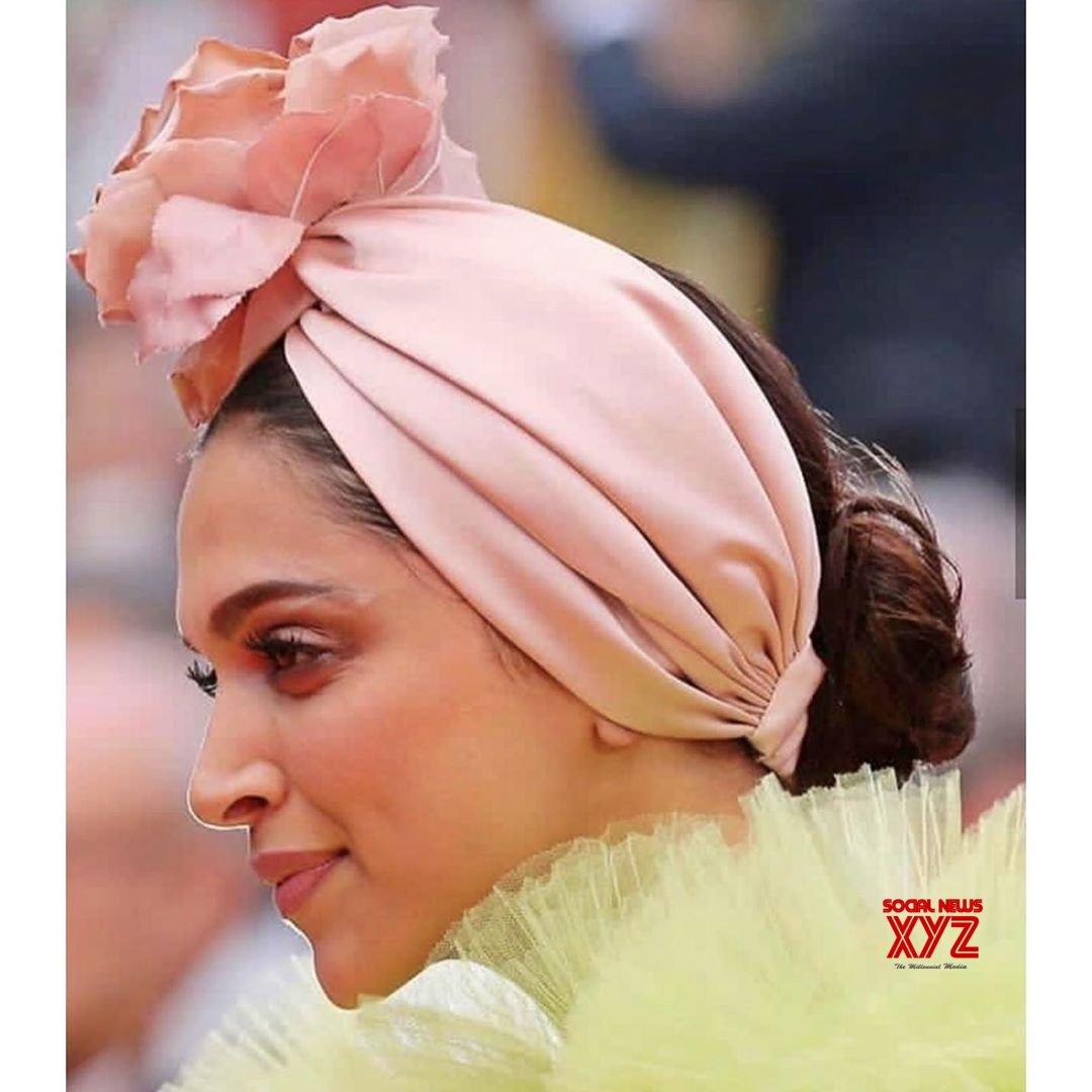 Actress Deepika Padukone New Stills Form Cannes 2019 Red Carpet Day 2