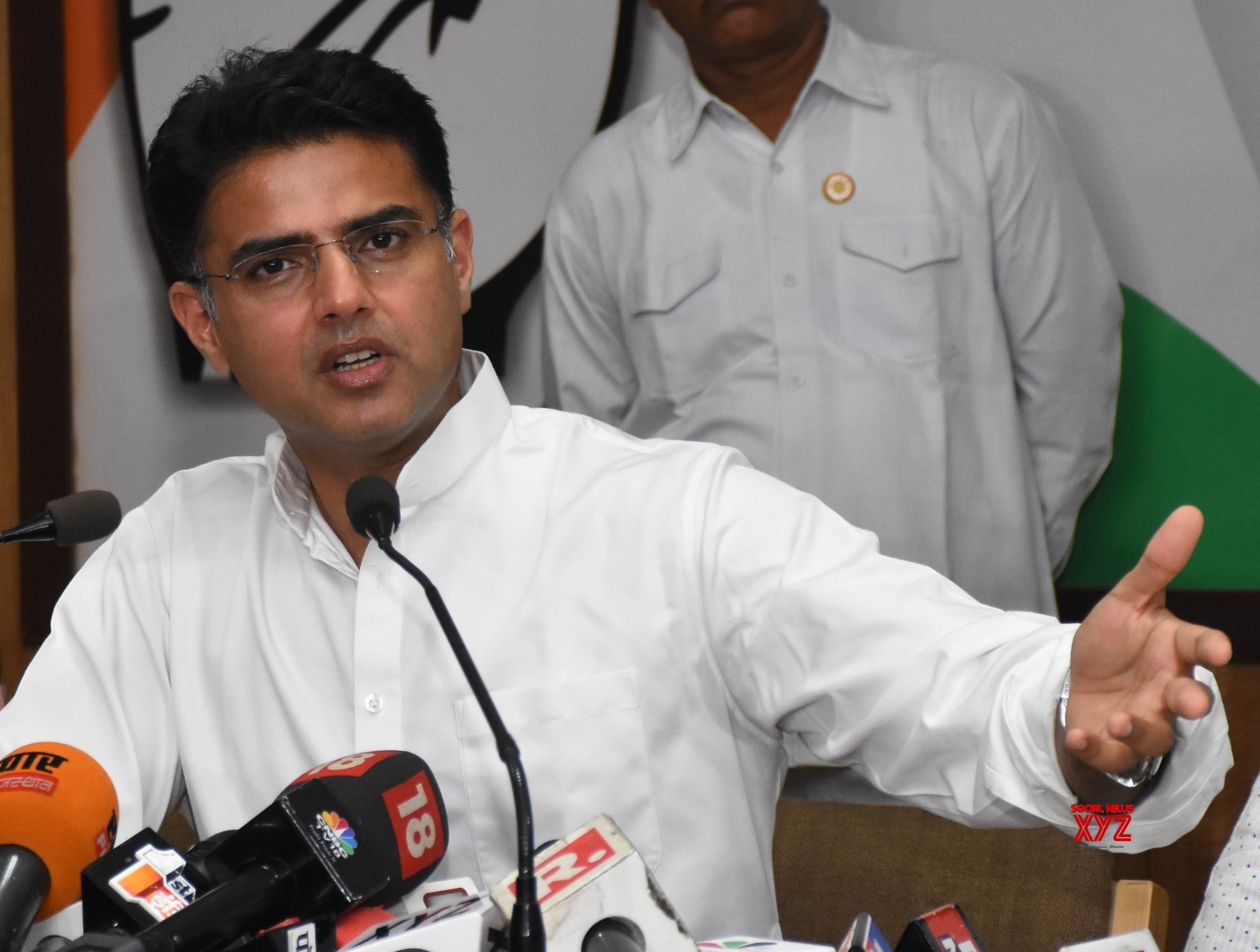 Jaipur: Sachin Pilot's press conference #Gallery