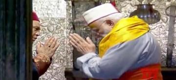 Kedarnath: Prime Minister Narendra Modi offers prayers at the the Kedarnath shrine, in Uttarakhand's Kedarnath on May 18, 2019. (Photo: IANS)