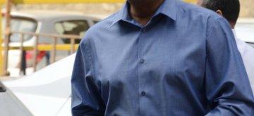 Mumbai: Former India coach Anshuman Gaekwad arrives to attend the Board of Cricket Control of India`s Annual General Meeting at BCCI head Quarter in Mumbai on Nov. 9, 2015. (Photo: Sandeep Mahankal/IANS)