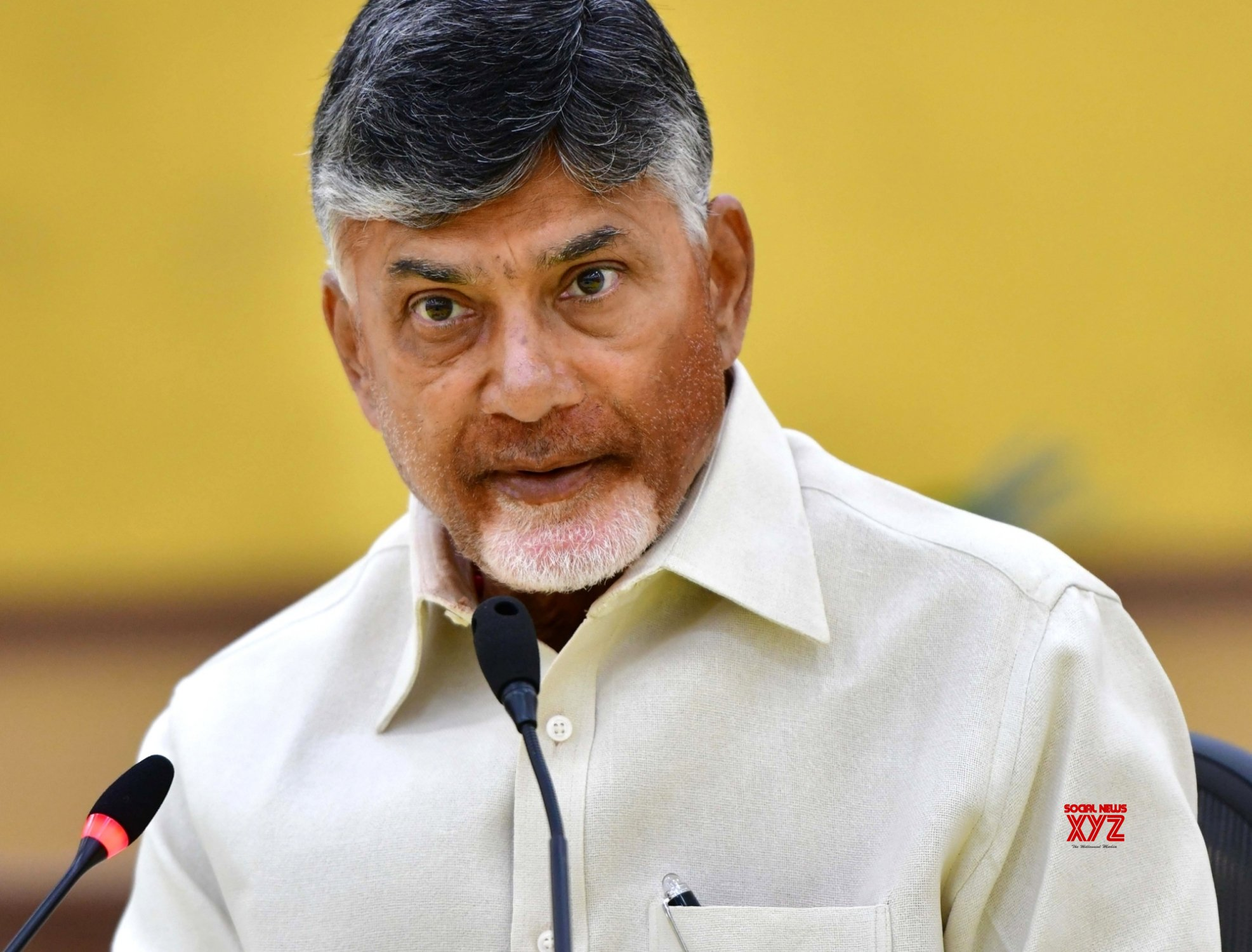 What a fate! CBN has to call his junior as 'Sir'!
