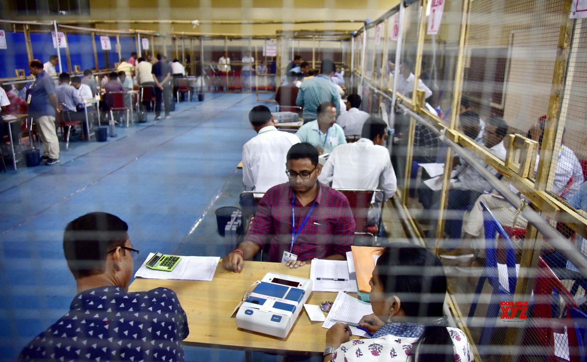 Guwahati: 2019 LS polls: Counting of votes underway #Gallery