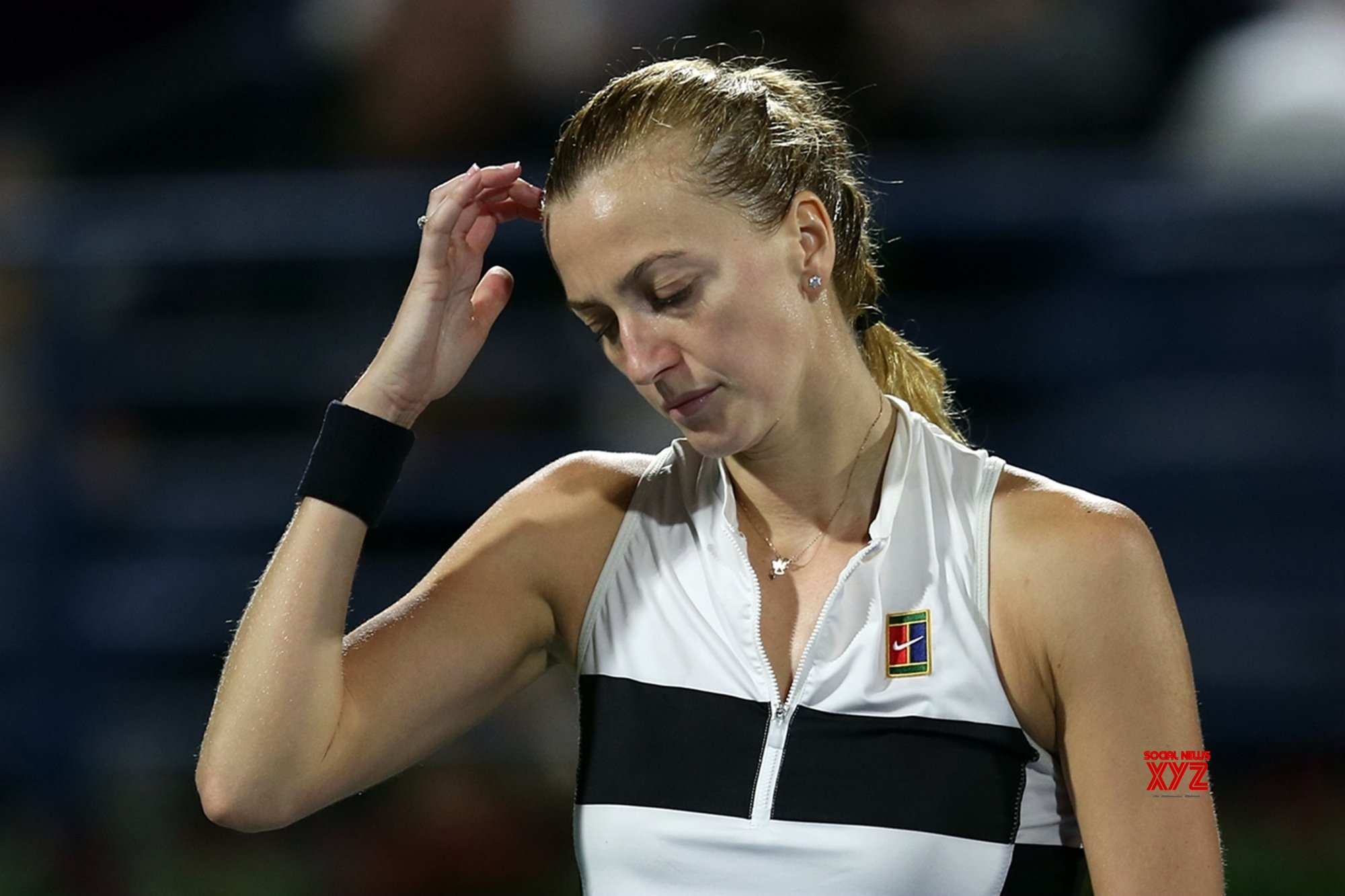 Forearm injury forces Kvitova out of French Open