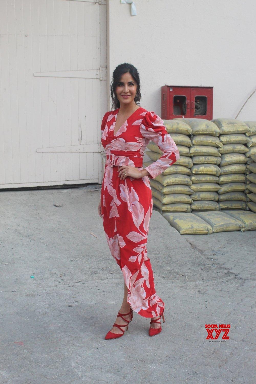 """Mumbai: Film """"Bharat"""" promotion - Katrina Kaif #Gallery ..."""