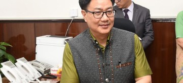 Kiren Rijiju. (File Photo: IANS)