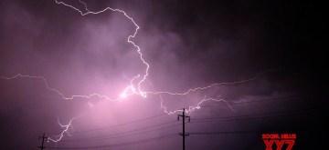 Lightning. (Photo: IANS)