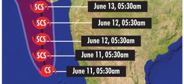 Cyclone Vayu to hit Gujarat on June 13. (IANS Infographics)