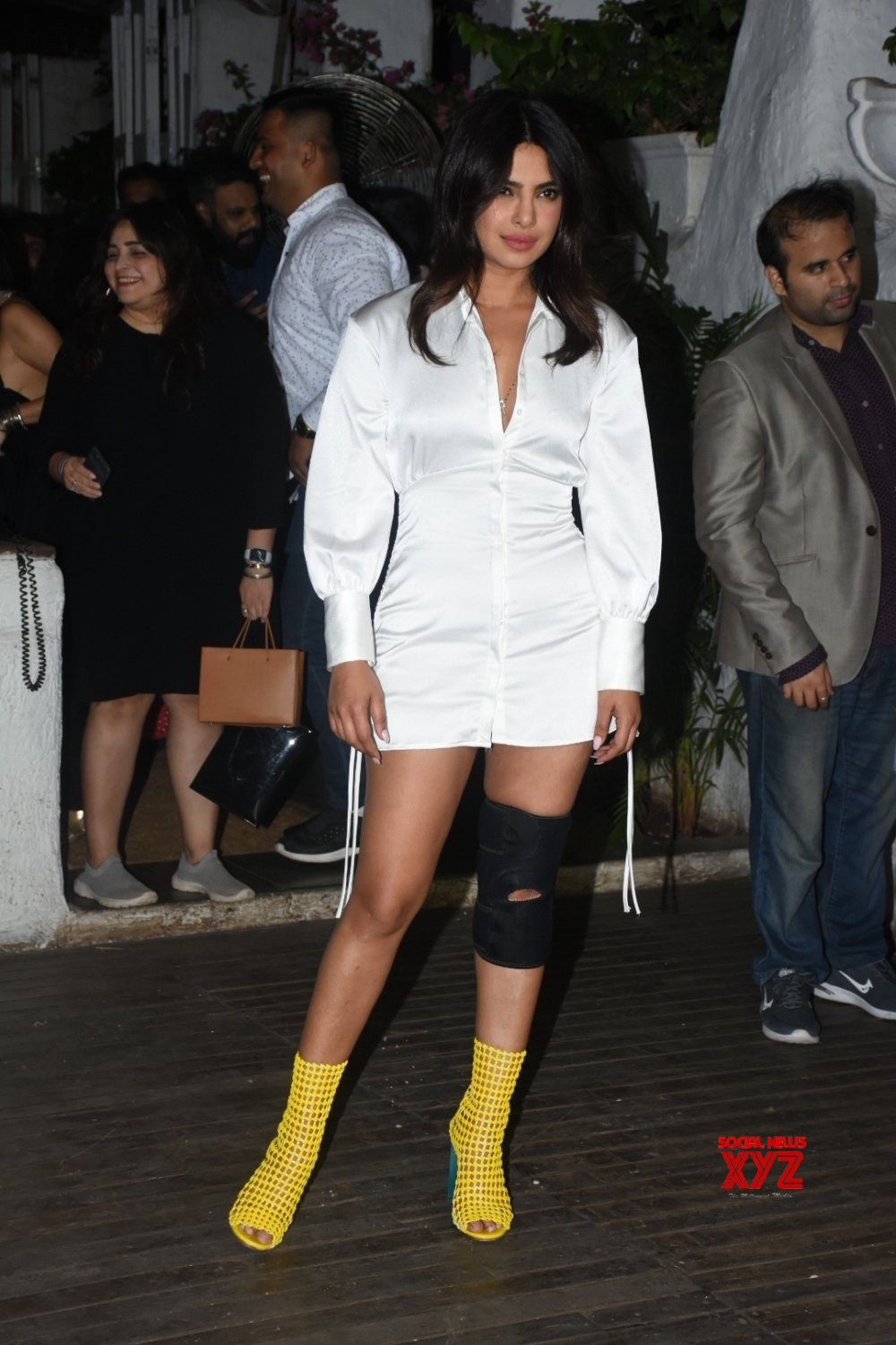 "Mumbai: Film ""The Sky Is Pink"" wrap - up party - Priyanka Chopra #Gallery"