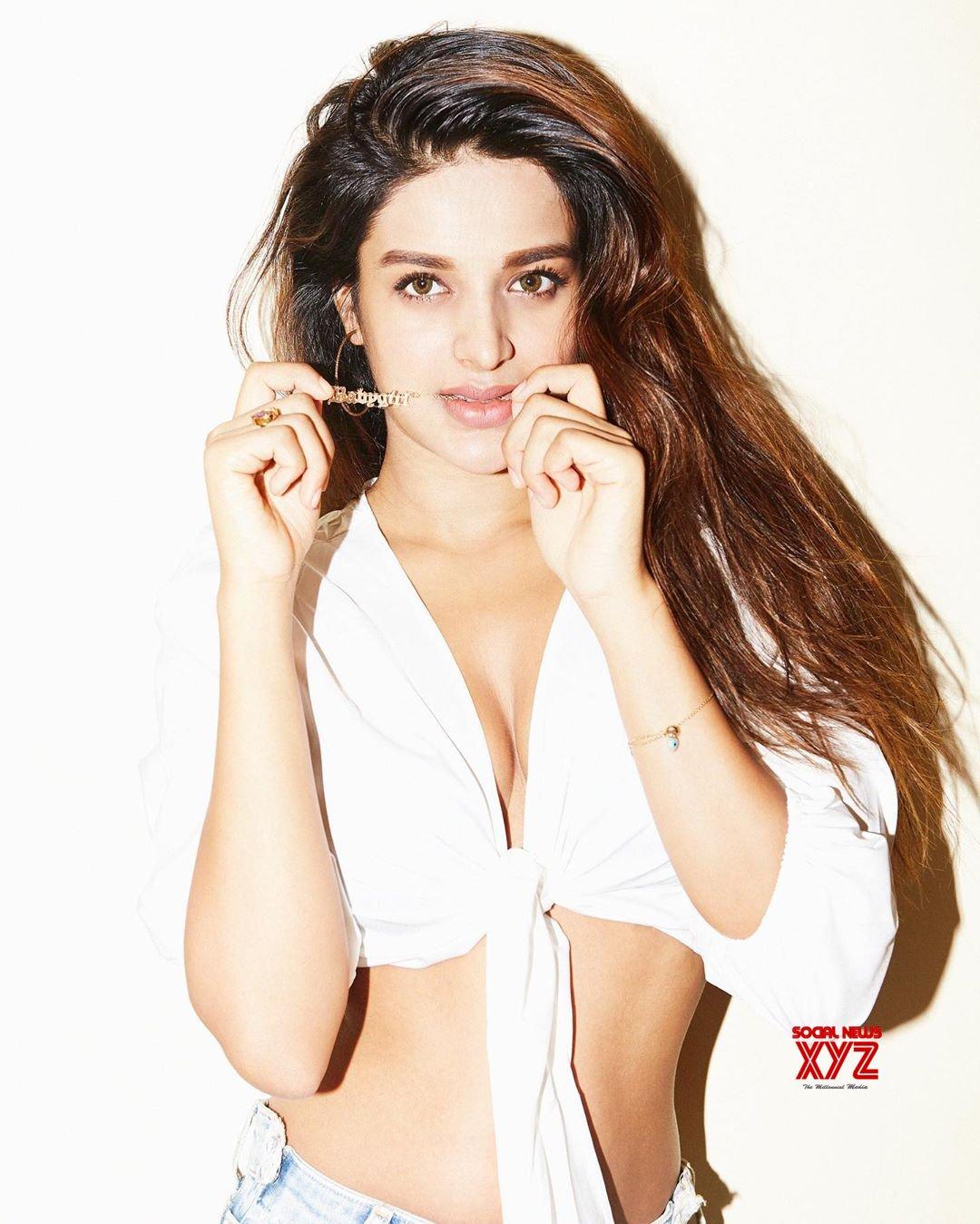 Actress Nidhhi Agerwal Hot Instagram Stills
