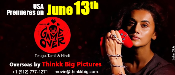 Taapsee Pannu's Game Over Movie USA Theaters List