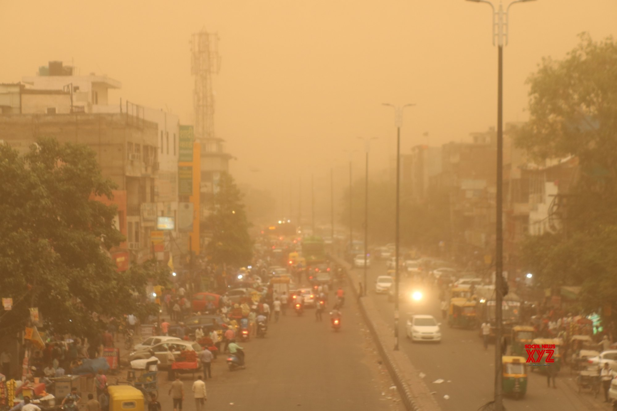 Duststorm: Operations resumes at IGI airport