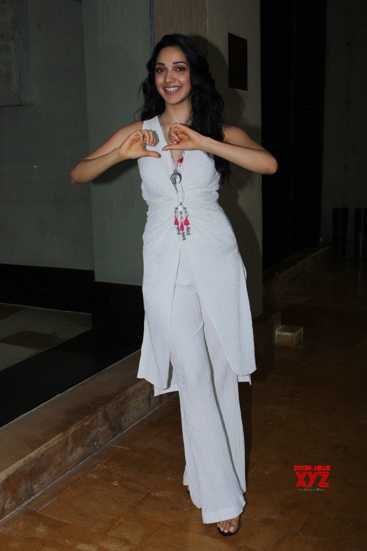 """Mumbai: Film """"Kabir Singh"""" promotions -  Kiara Advani #Gallery"""