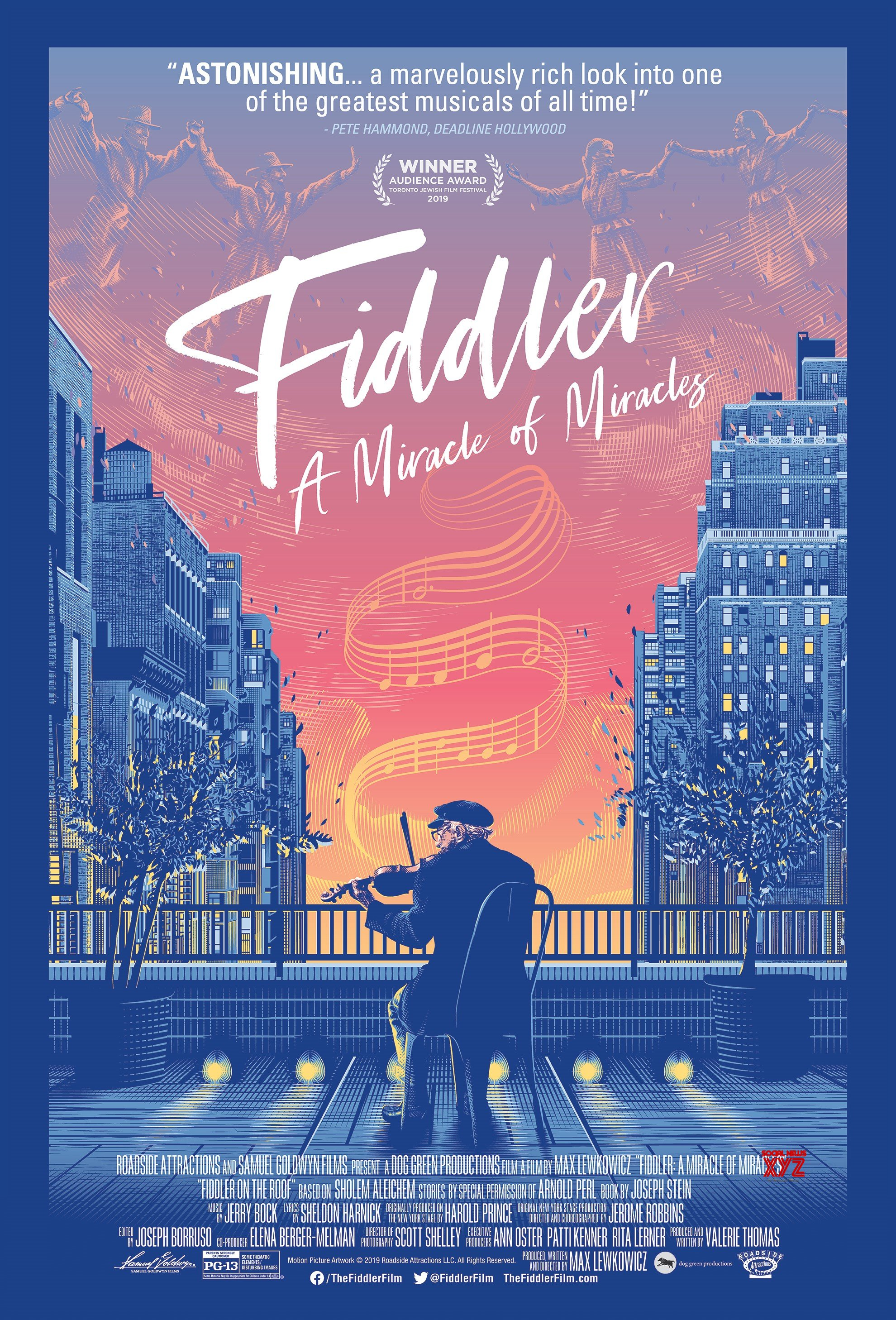 Fiddler: A Miracle Of Miracles Movie HD Poster
