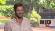 Agent H(Chris Hemsworth) Meets Peter Parker (Tom Holland) for Superhero Interview    #SocialNews.XYZ  (Video)