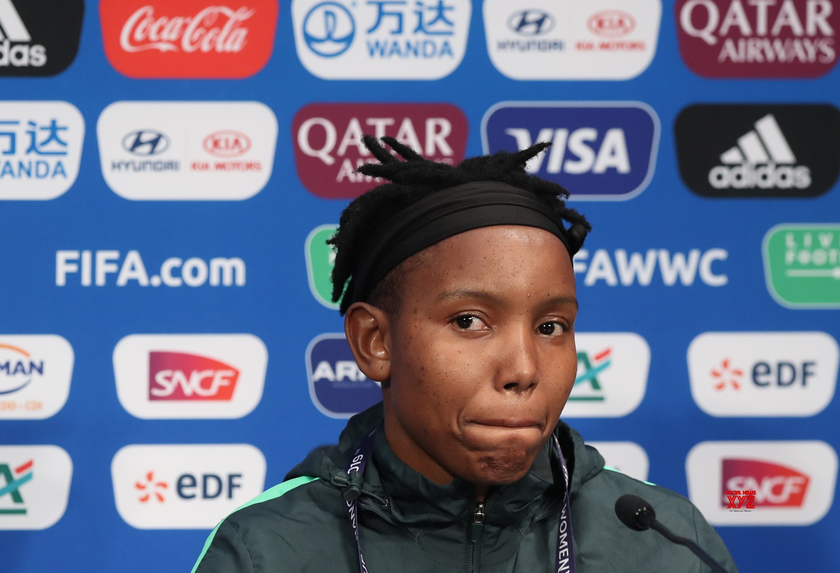 FRANCE - PARIS - 2019 FIFA WOMEN'S WORLD CUP - GROUP B - SOUTH AFRICA - OFFICIAL PRESS #Gallery