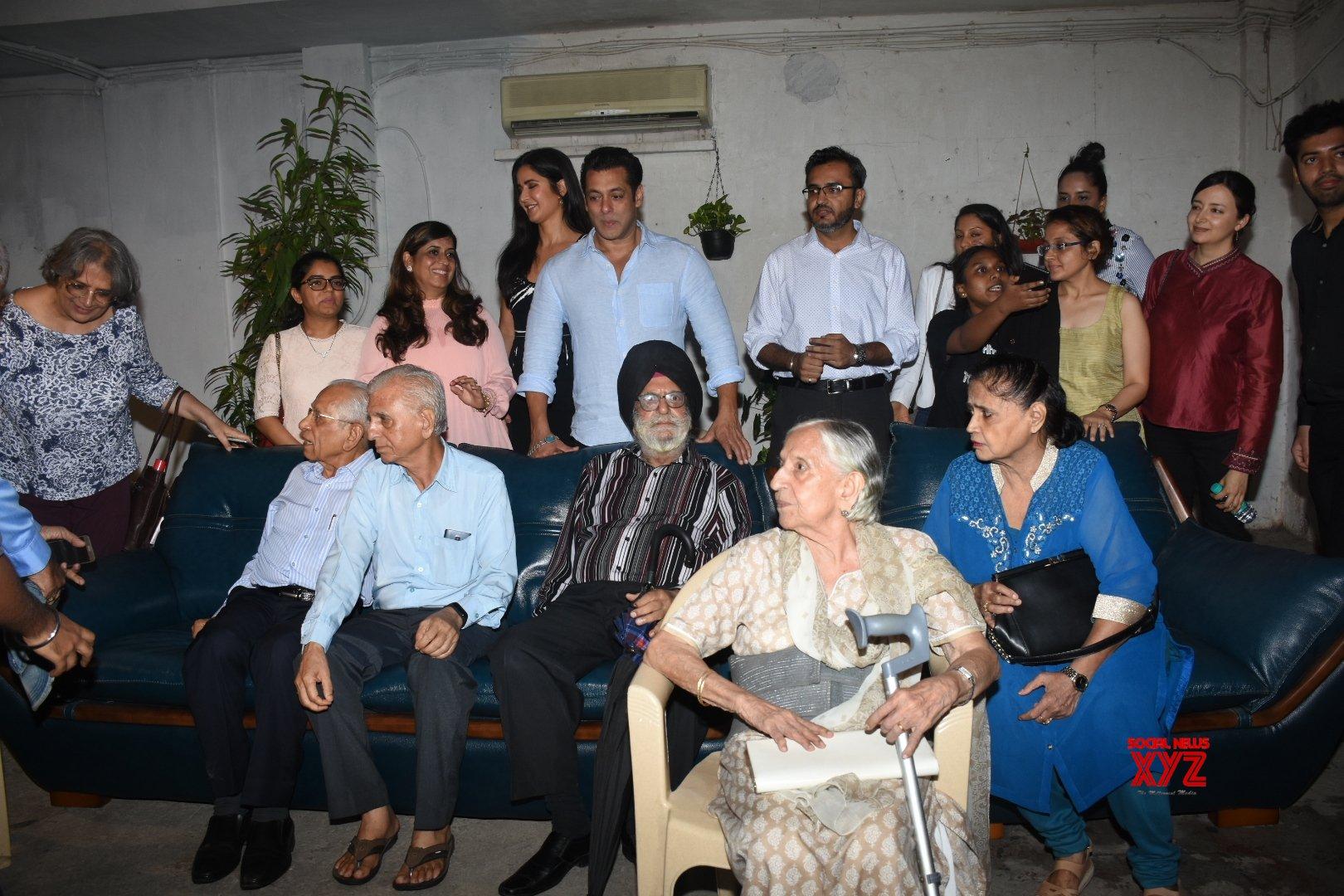 Mumbai: 'Bharat' special screening hosted for partition families - Salman Khan, Katrina Kaif #Gallery