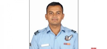 New Delhi: Sqn Ldr H Vinod one of the 13 persons who died in An-32 aircraft crash in Arunachal Pradesh on June 3. (Photo: IANS/DPRO)