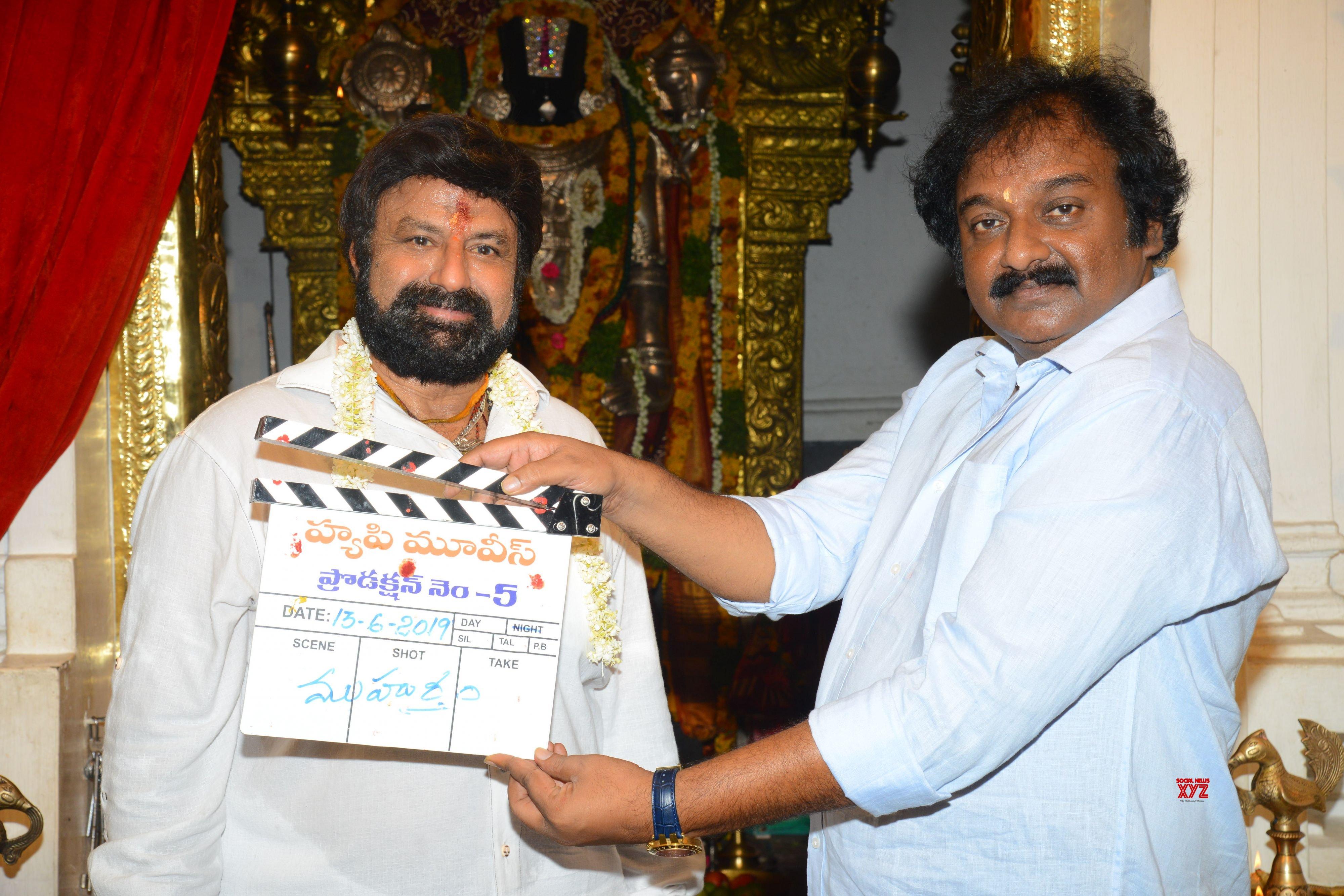 Nandamuri Balakrishna - KS Ravi Kumar - C Kalyan Movie Launch HD Gallery