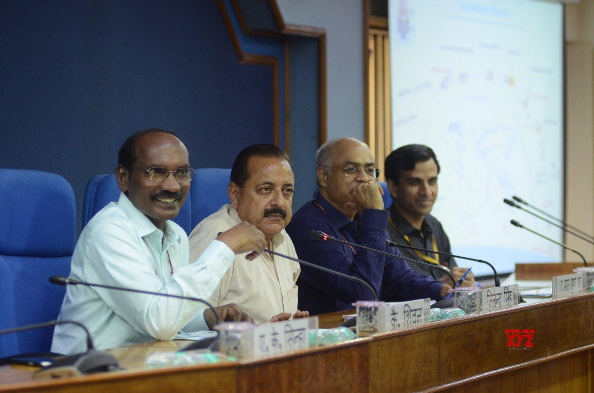 New Delhi: K. Sivan, Jitendra Singh's press conference (Batch - 2) #Gallery