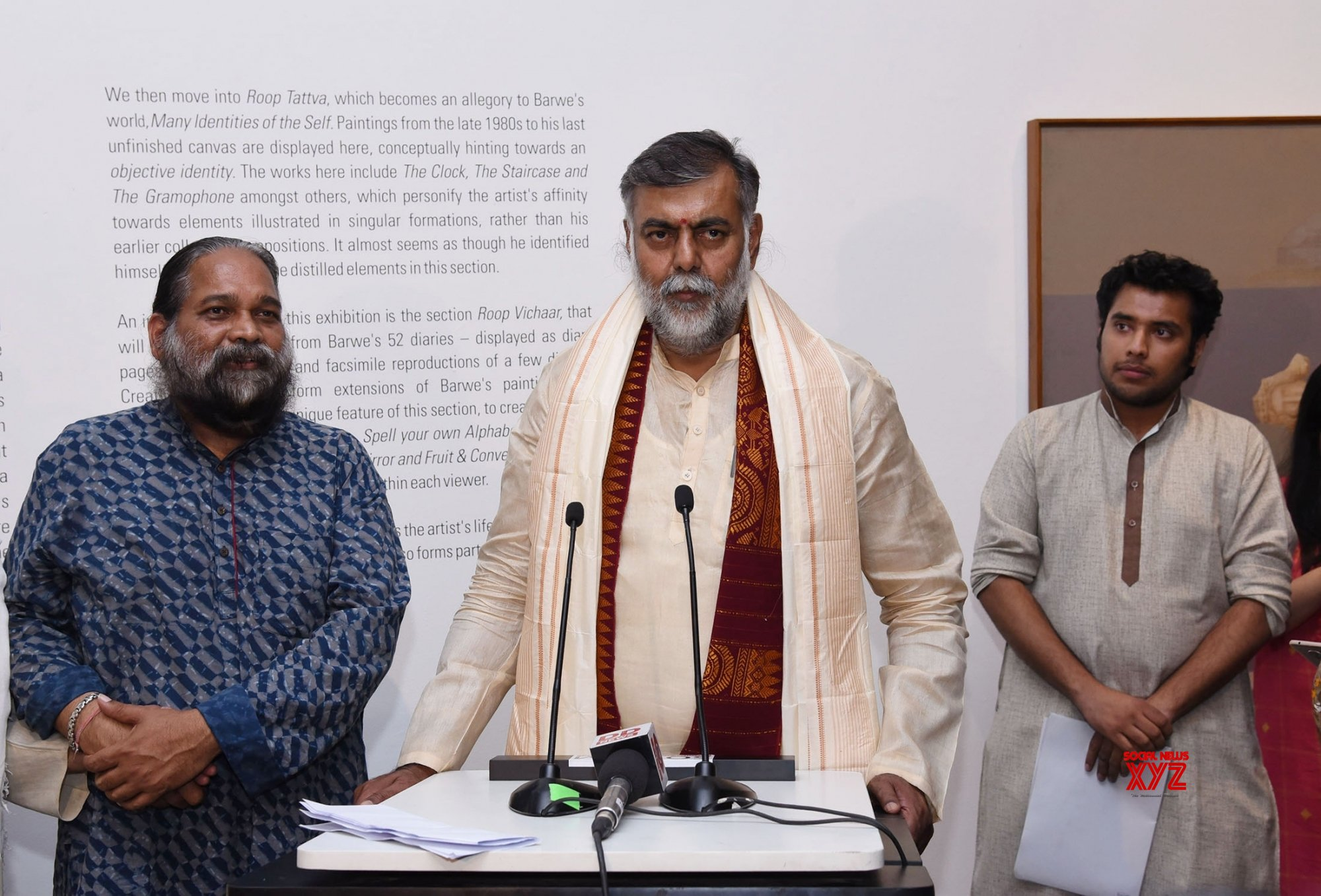 "New Delhi: ""Astitva: The Essence of Prabhakar Barwe"" - exhibition #Gallery"