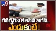 CM YS Jagan meets Governor Narasimhan in Vijayawada - TV9 (Video)