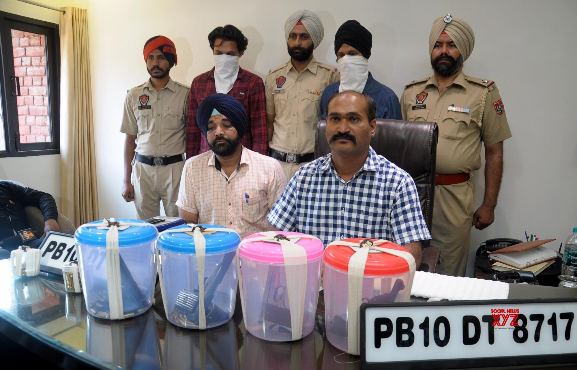 Amritsar: Punjab Police recovers arms and ammunition, 2 arrested #Gallery