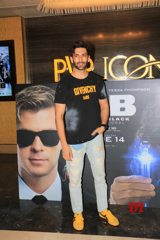 "Mumbai: Film ""Men in Black: International"" screening - Nandish Sandhu, Amol Parashar #Gallery"