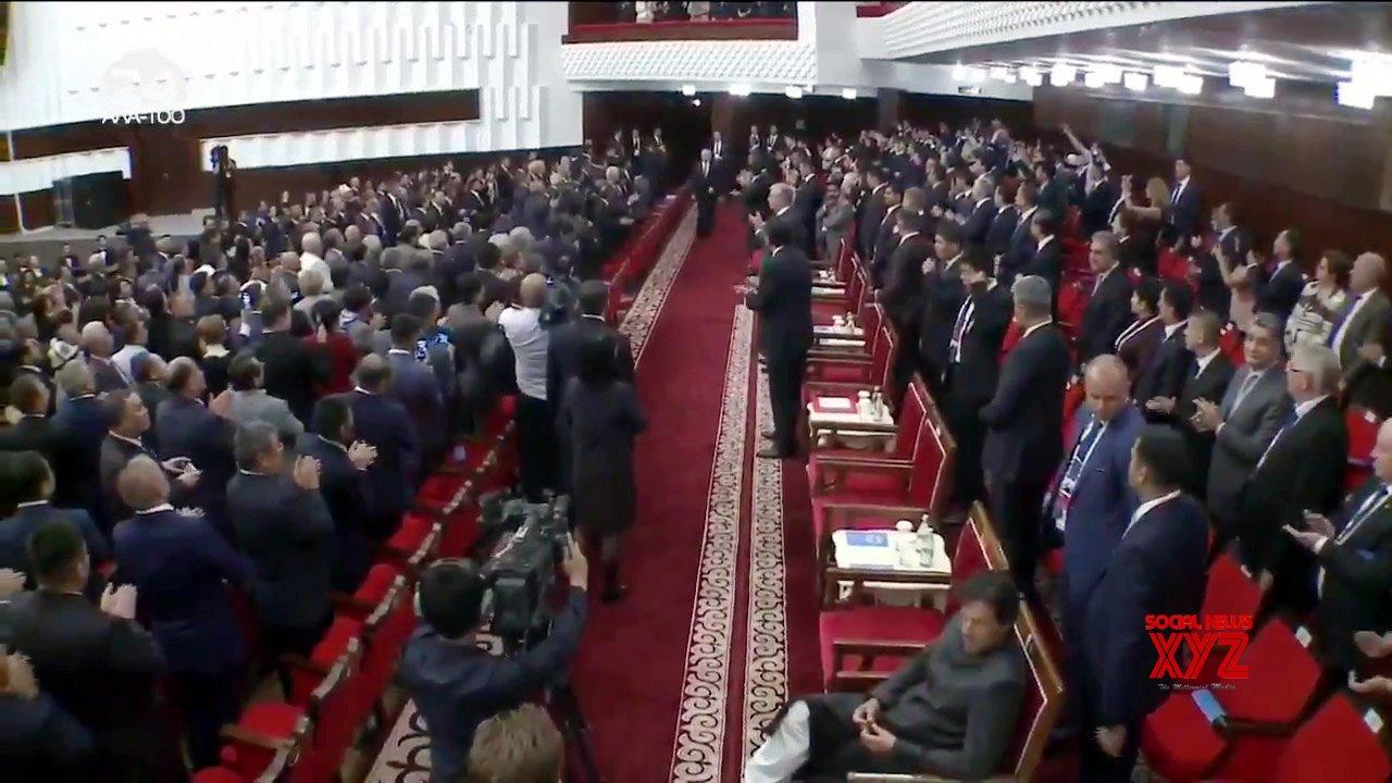 Bishkek: Imran Khan breaks diplomatic protocol at SCO Summit #Gallery