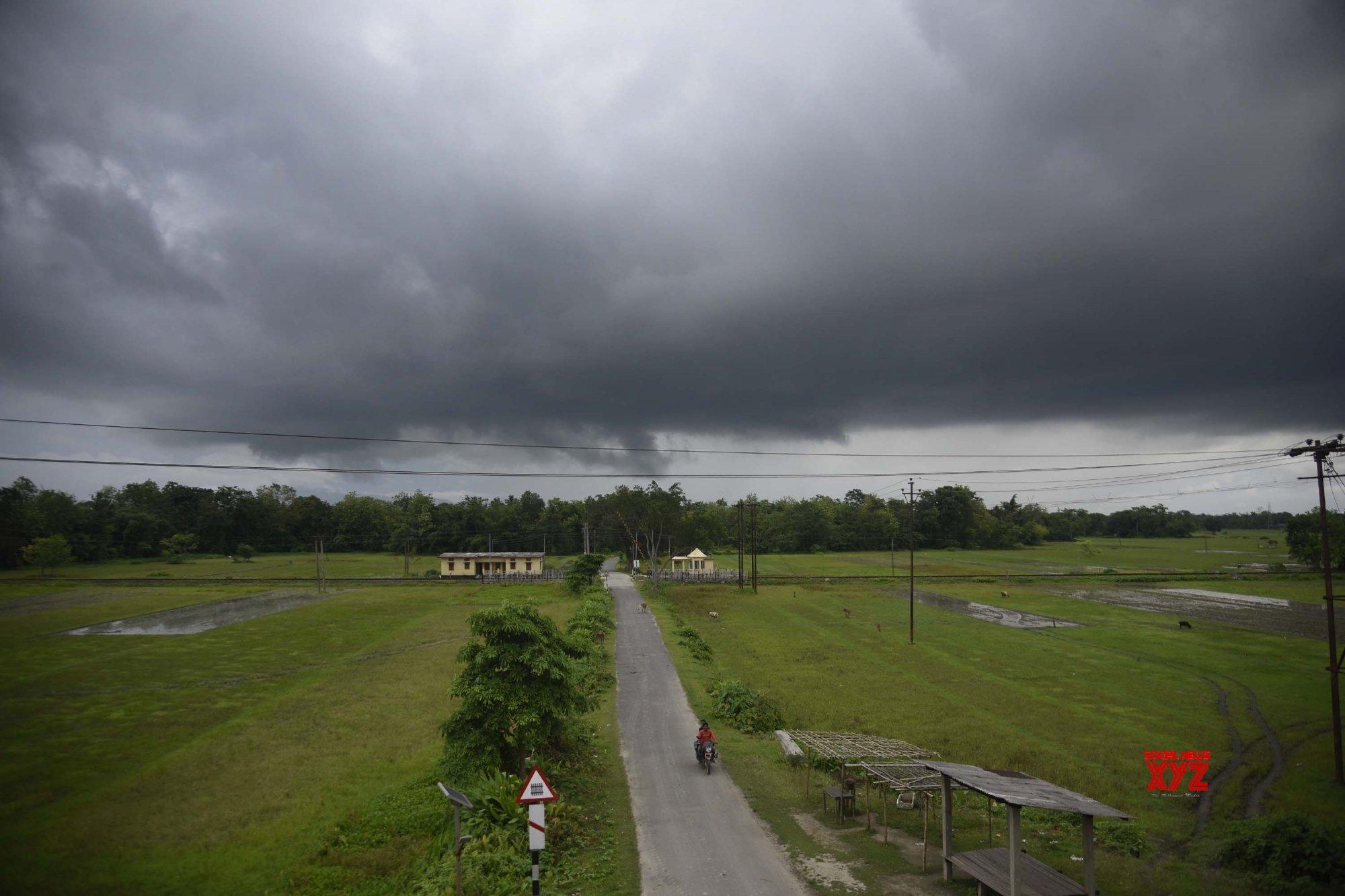Nagaon: Dark clouds #Gallery