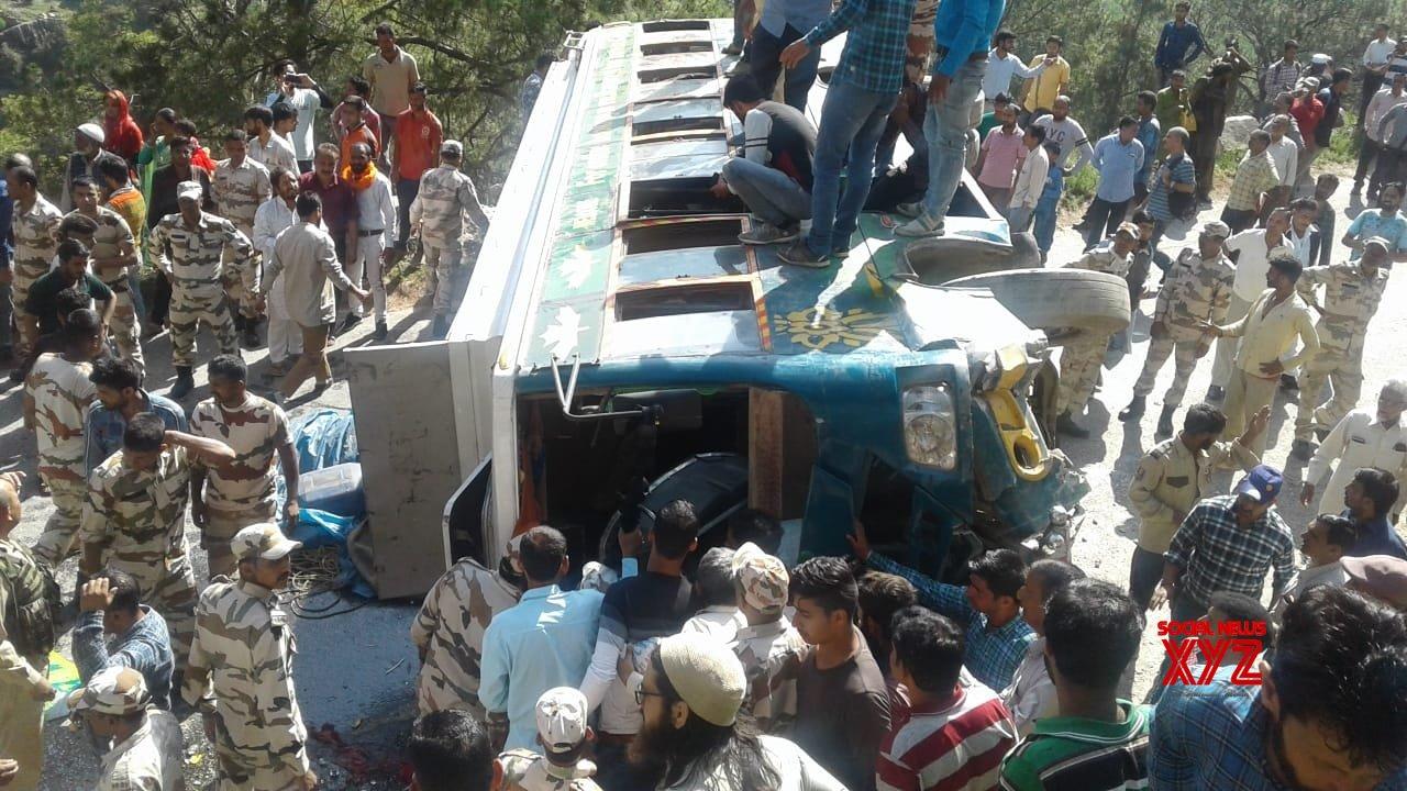 Doda (J&K): 25 injured in Doda accident #Gallery