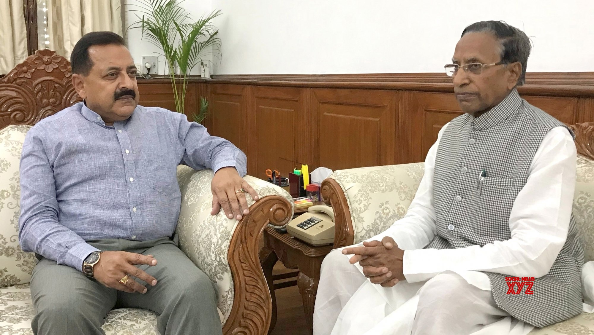 New Delhi: Sikkim Governor meets Jitendra Singh #Gallery