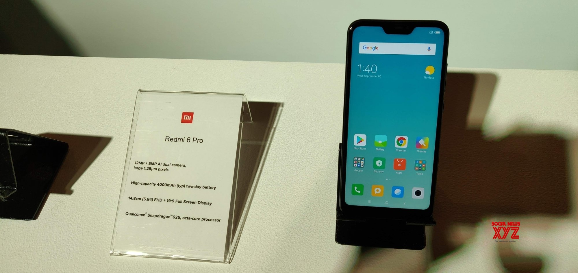 Xiaomi Redmi 6 Pro gets Android 9 Pie update in India