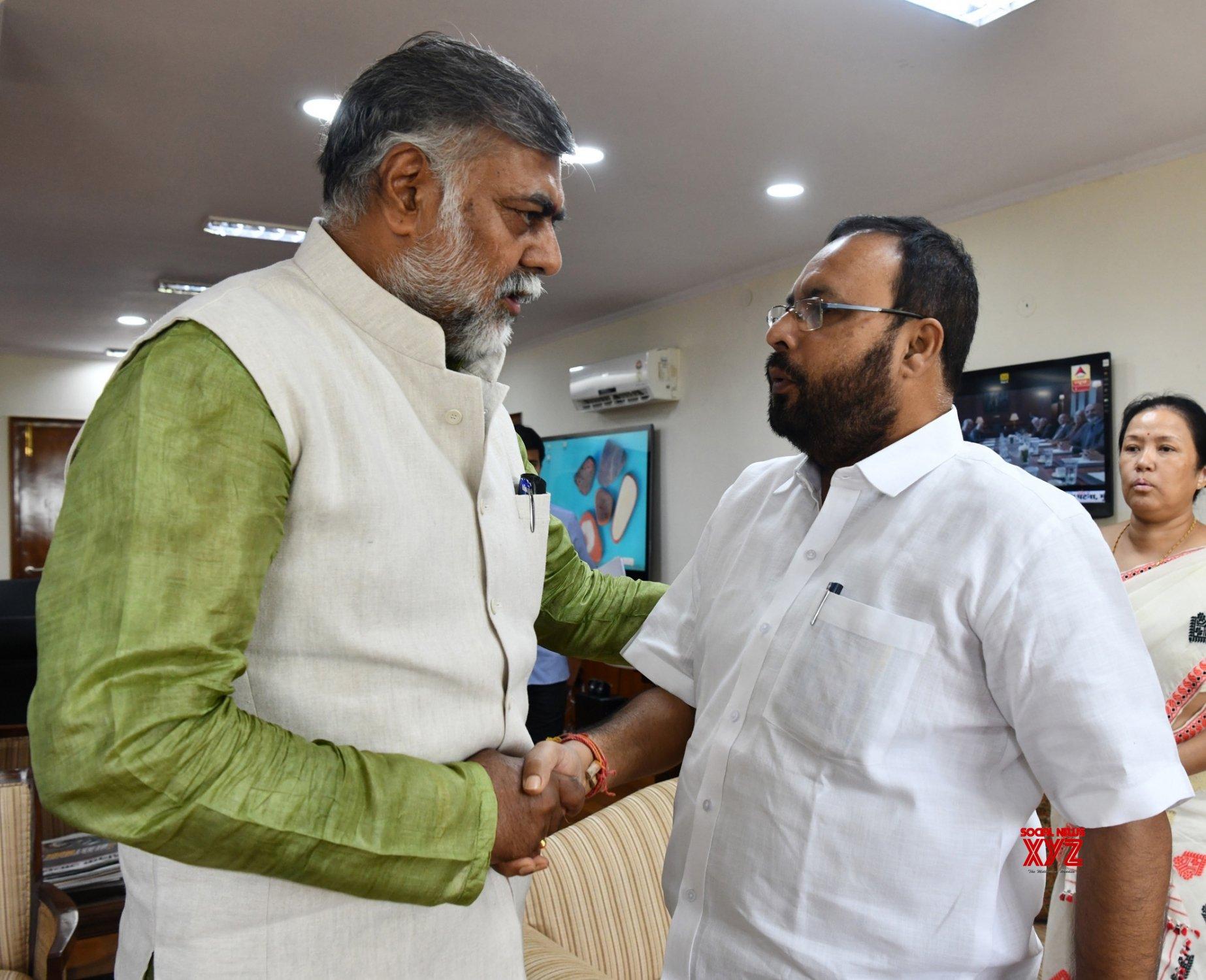 New Delhi: Assam Minister meets Prahalad Singh Patel #Gallery