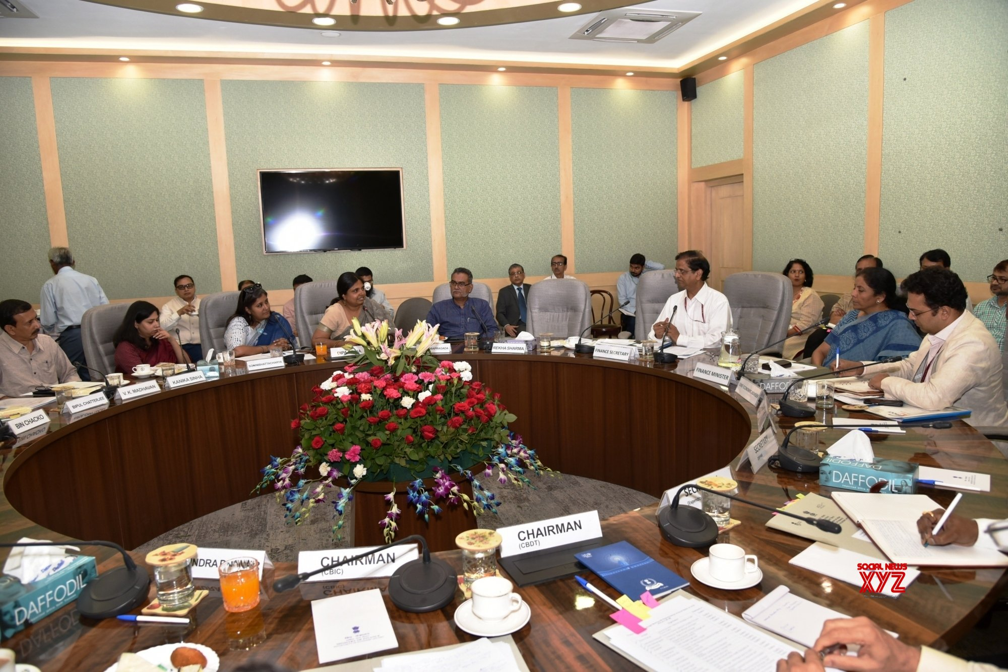 New Delhi: Nirmala Sitharaman chairs Pre - Budget consultation with Social Sector Groups #Gallery