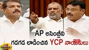 YCP Leaders Fires On Opposition Leaders In AP Assembly Session 2019 (Video)