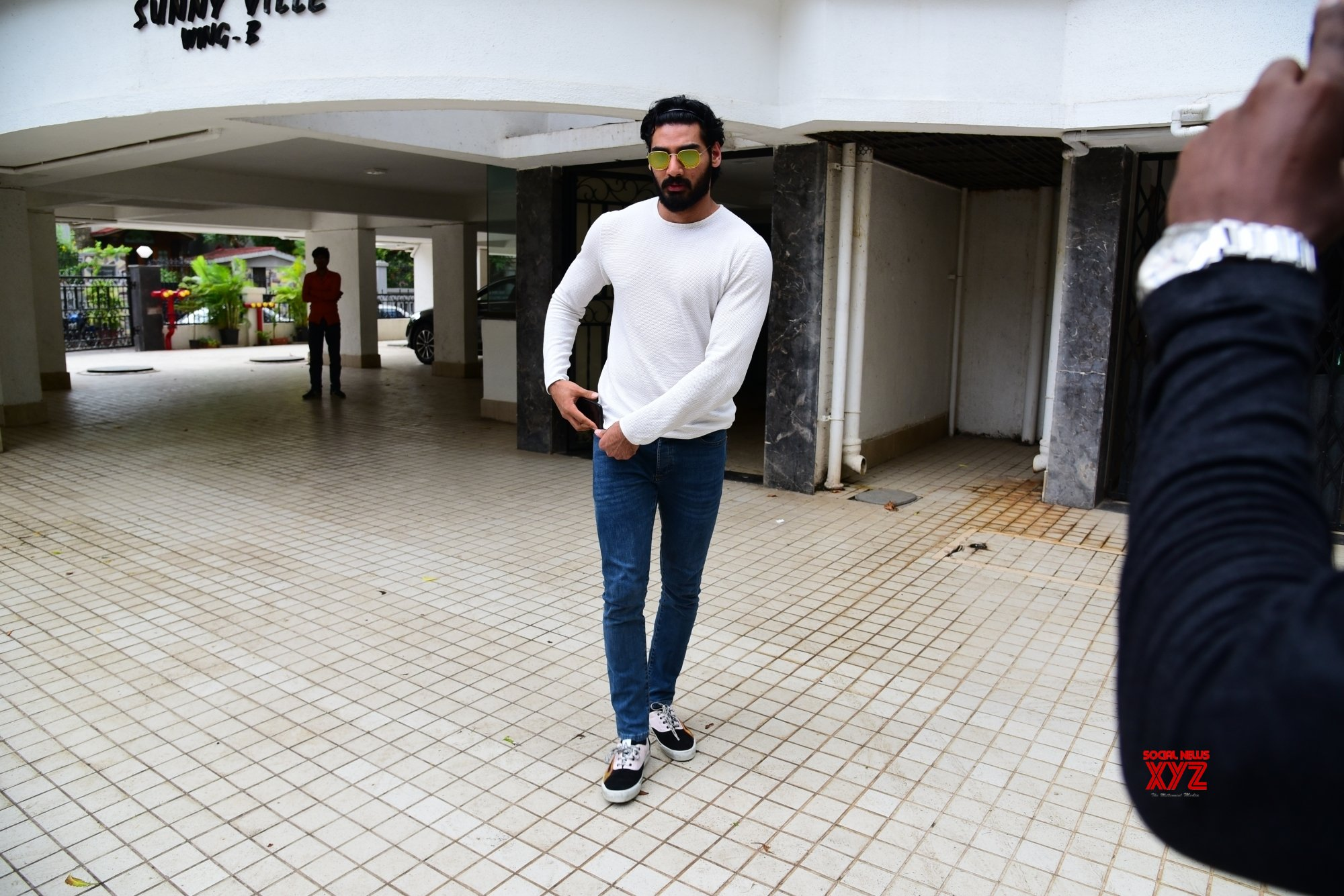 Mumbai: Ahan Shetty seen at Bandra #Gallery