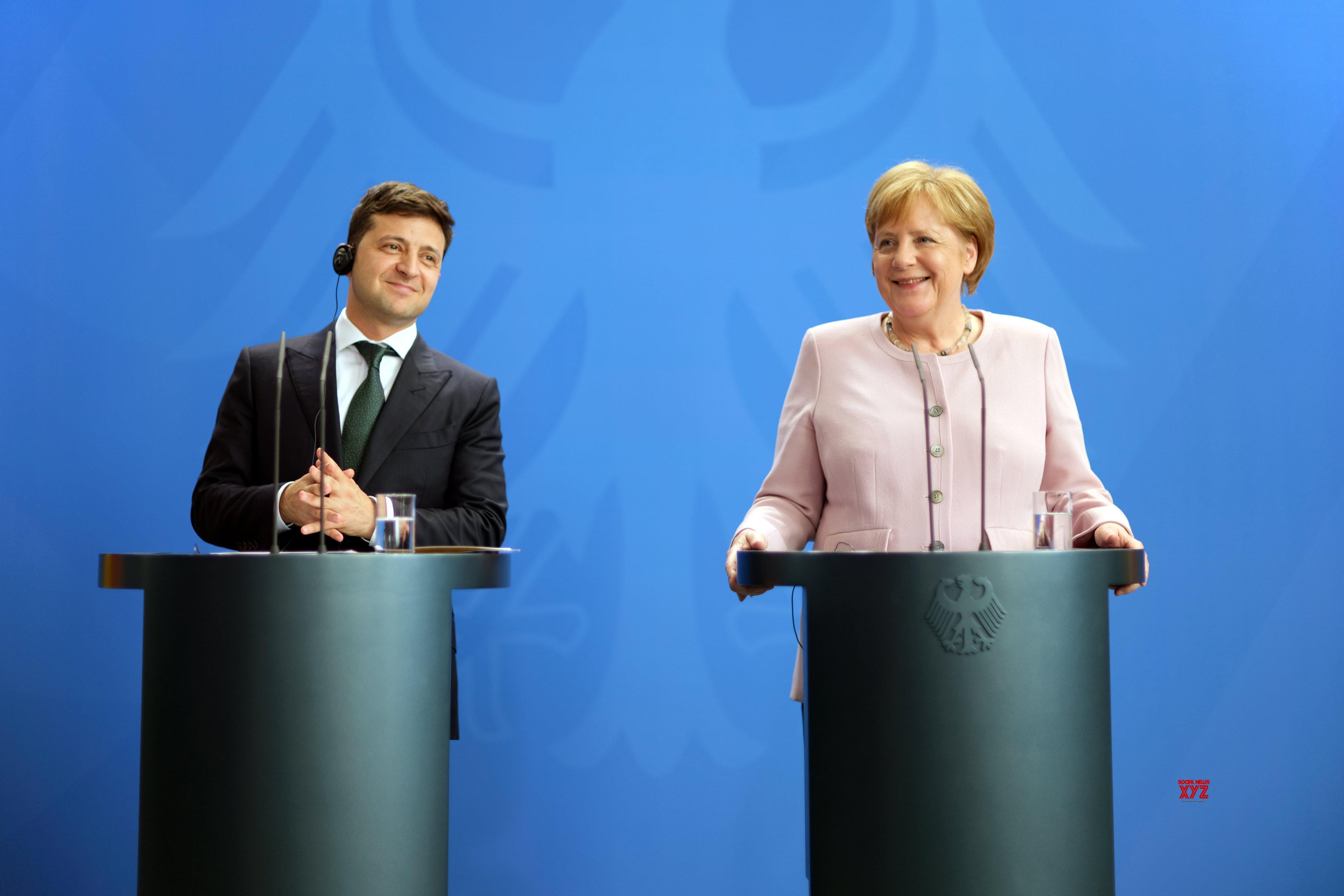 GERMANY - BERLIN - MERKEL - UKRAINE - PRESIDENT - MEETING #Gallery