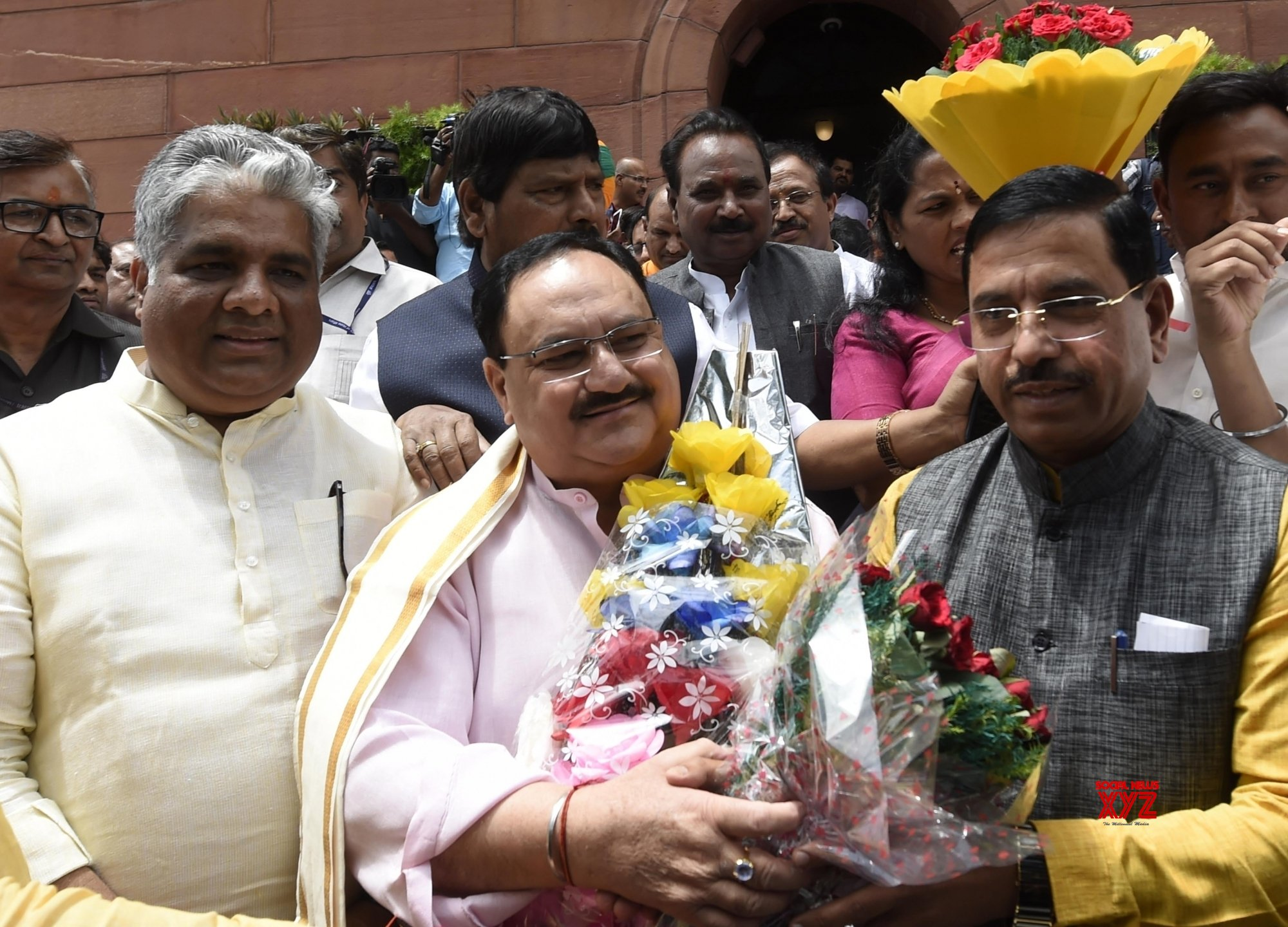 New Delhi: Parliament - J.P. Nadda #Gallery