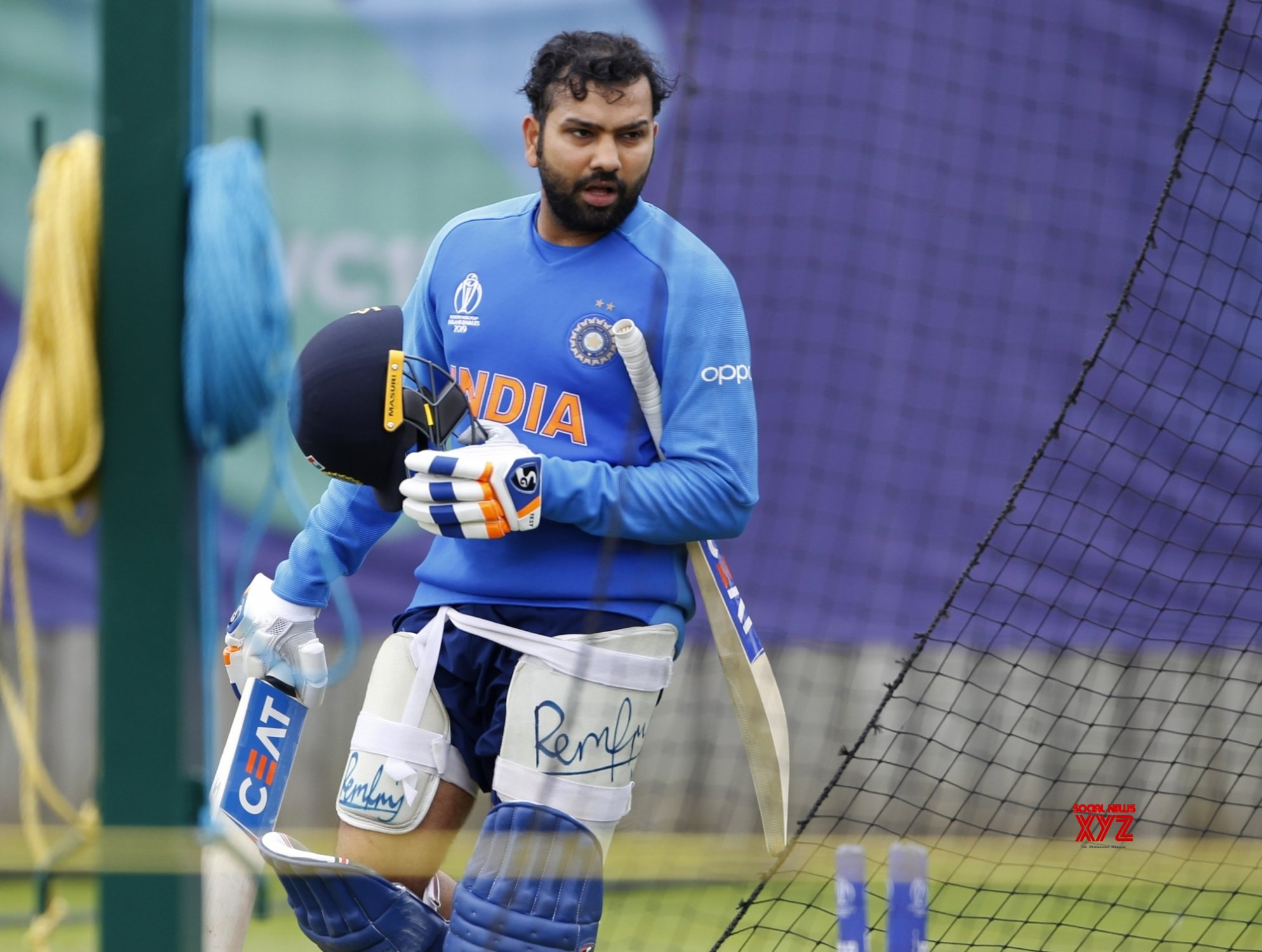 Rohit Sharma world cup 2019 Net session
