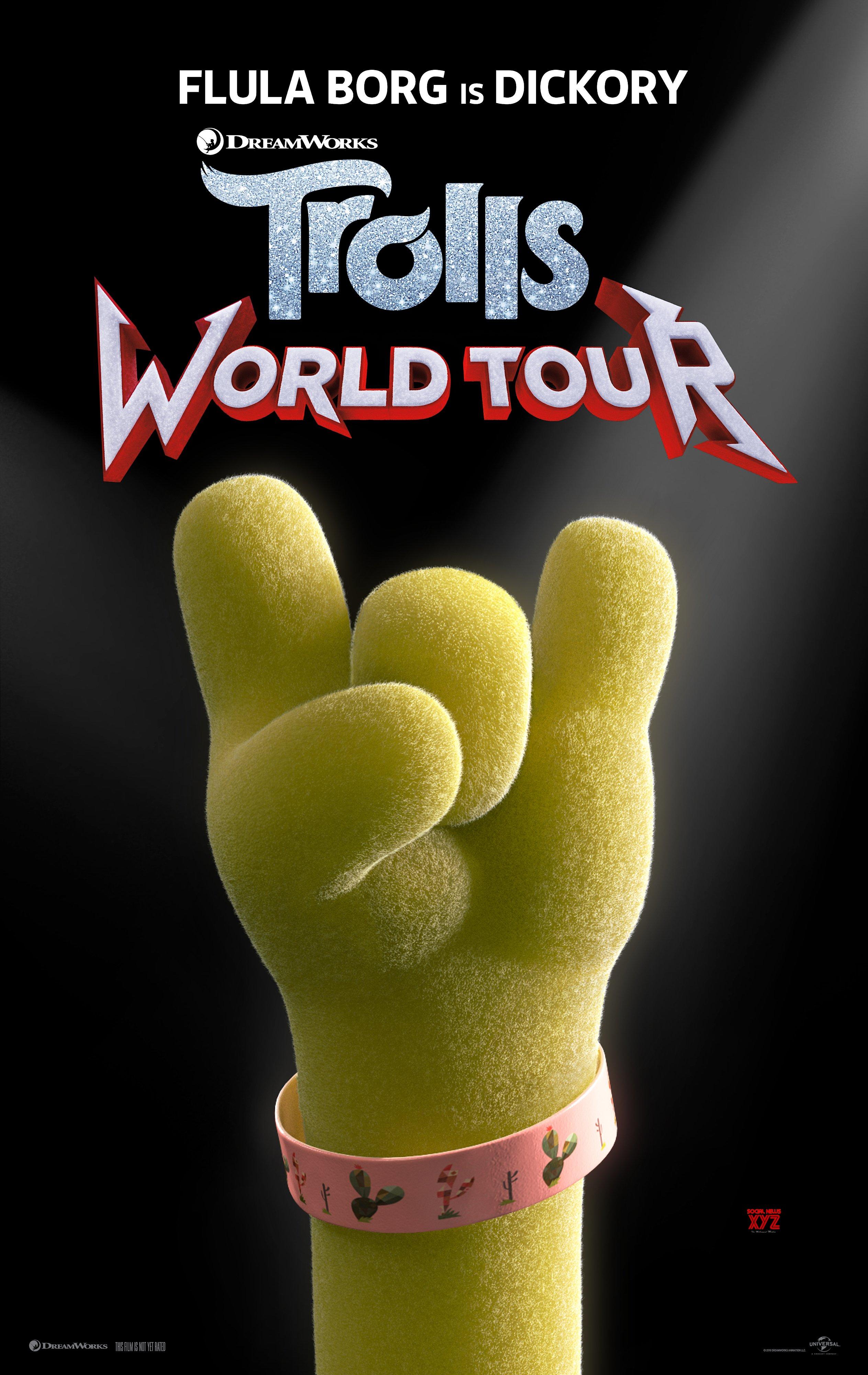 Trolls World Tour Movie Production Notes