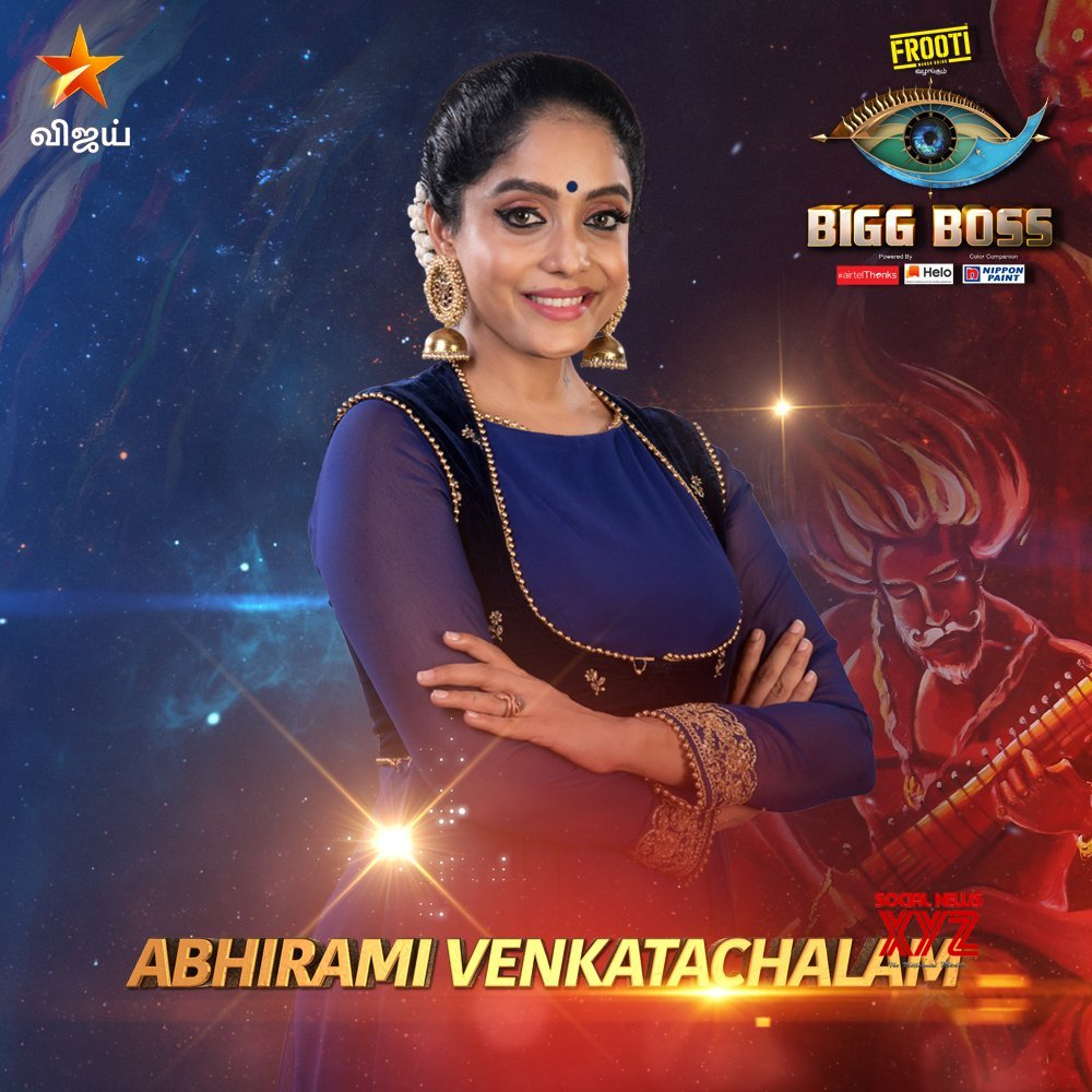 Bigg Boss Tamil Season 3 Contestants Posters - Social News XYZ