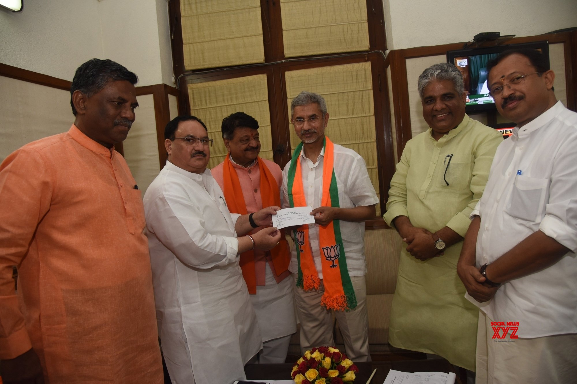Jaishankar joins BJP, nominated to contest RS seat from Gujarat