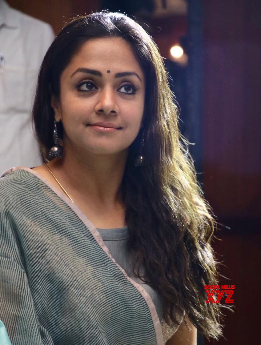 Actress Jyothika Stills From Raatchasi Movie Promotions ...