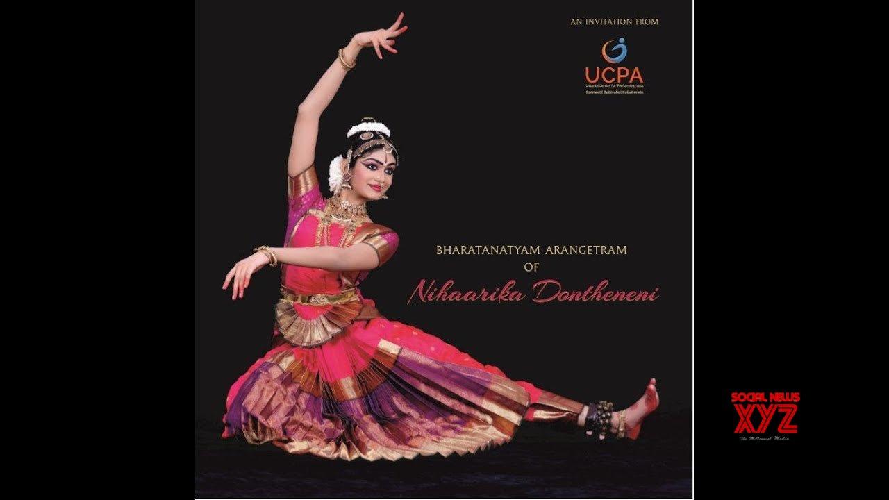 Nihaarika's Bharatanatyam Arangetram LIVE - TV9 (Video)